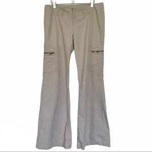 SOULMATE Paris Blues Light Khakis Boot Cut Pants 9